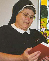 Sr. Janice Iverson, Mother of God Benedictine Monastery, Watertown, SD